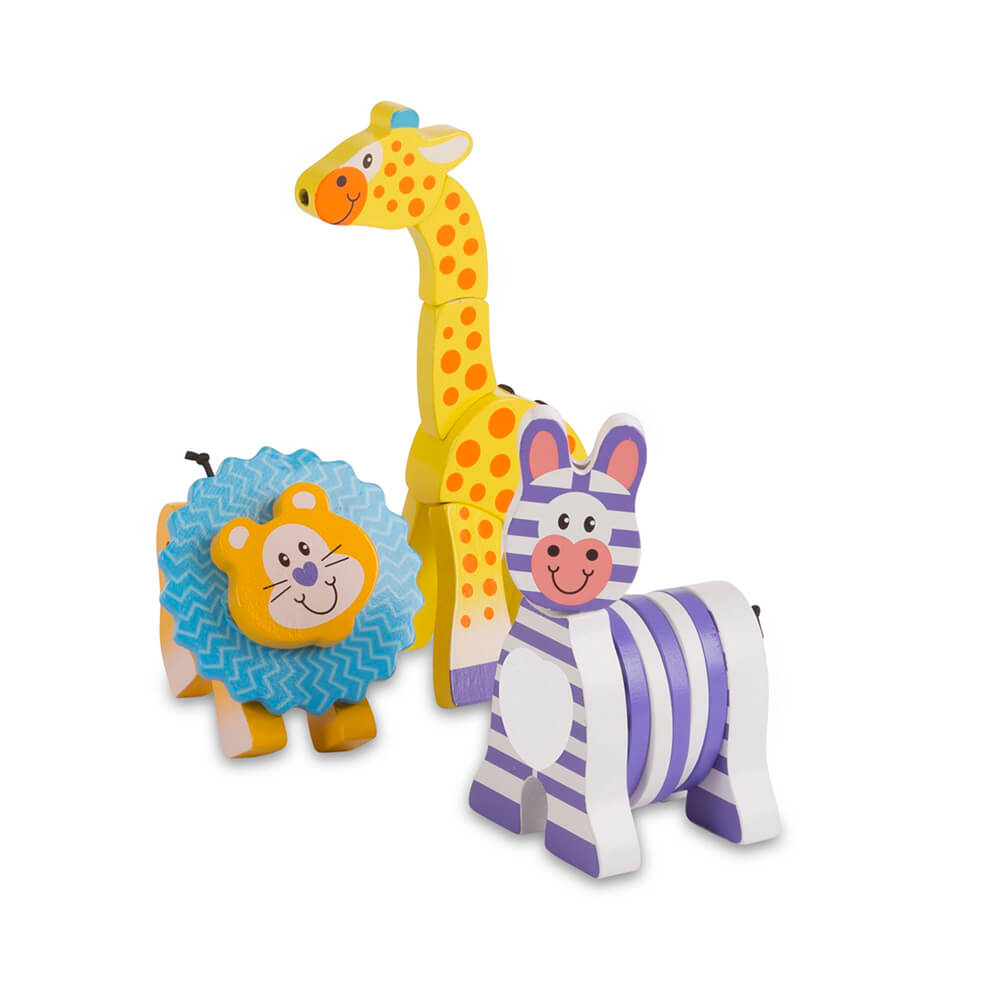 Melissa and Doug Safari Grasping Toys