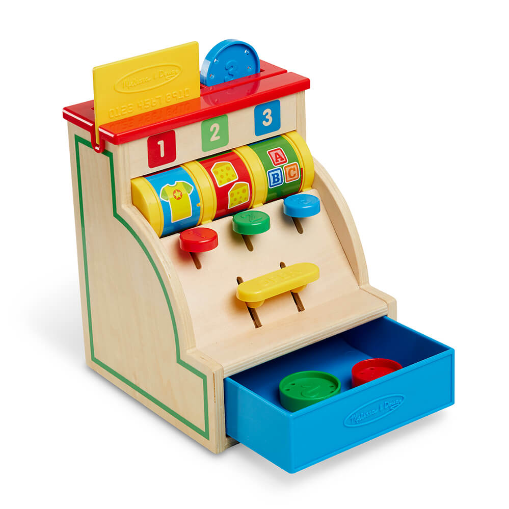 Melissa and Doug Swipe & Sort Cash Register