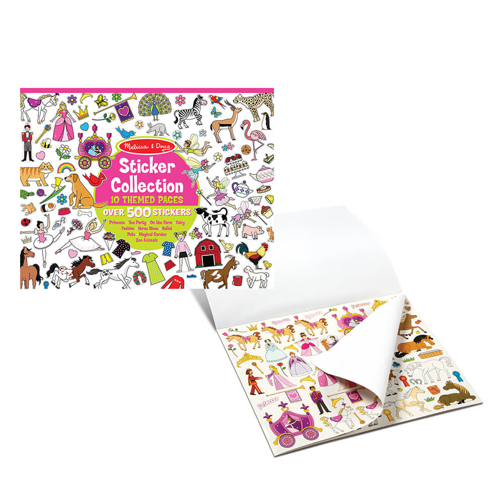 Melissa and Doug Pink Sticker Collection