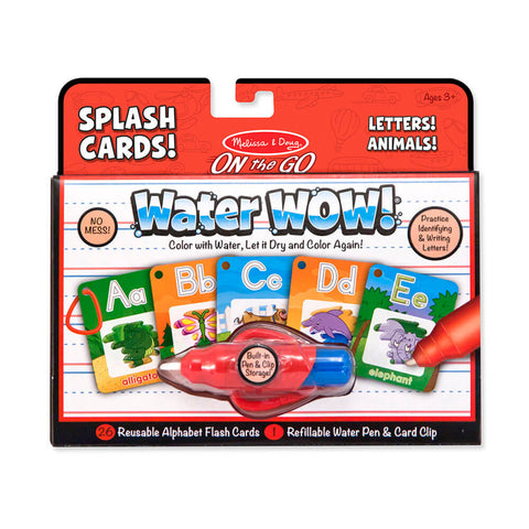 Melissa and Doug Water Wow Alphabet Splash Cards