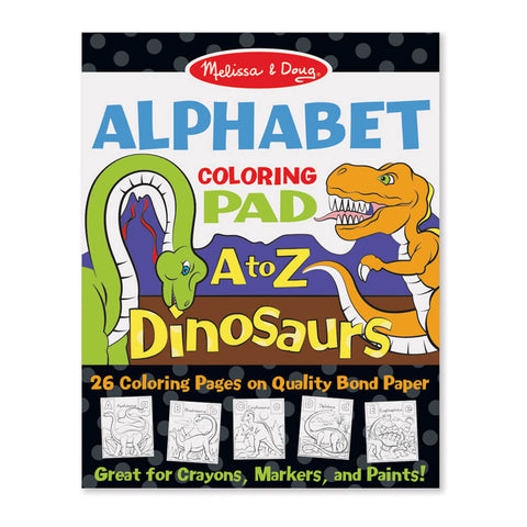 Melissa and Doug Dinosaurs Colouring in Pad