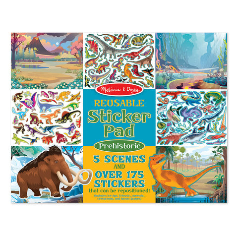 Melissa and Doug Prehistoric Reuseable Sticker Pad