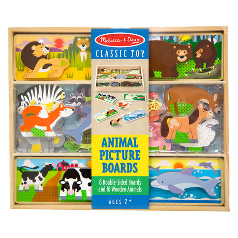 Melissa and Doug Animal Picture Boards