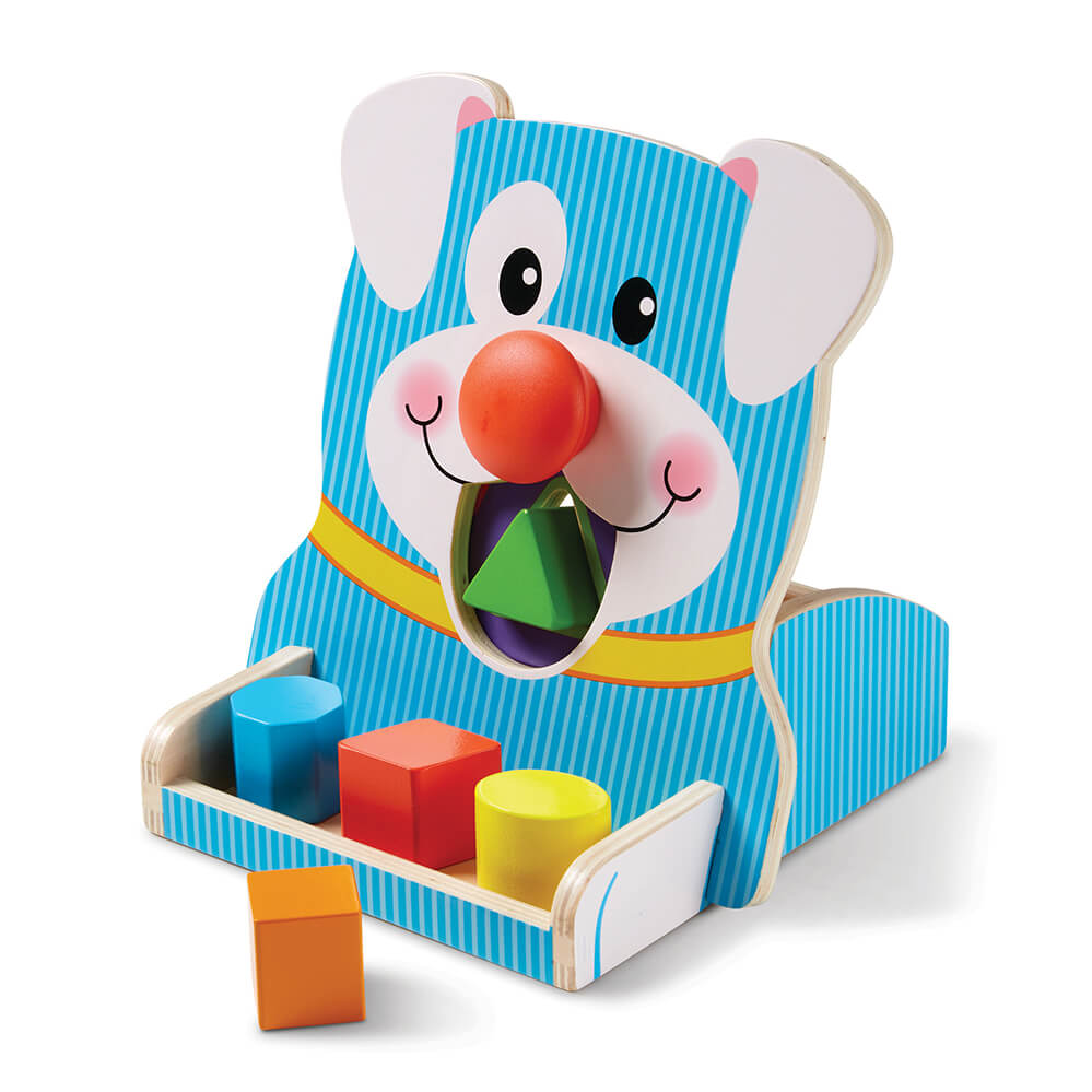 Melissa and Doug Spin & Feed Shape Sorter