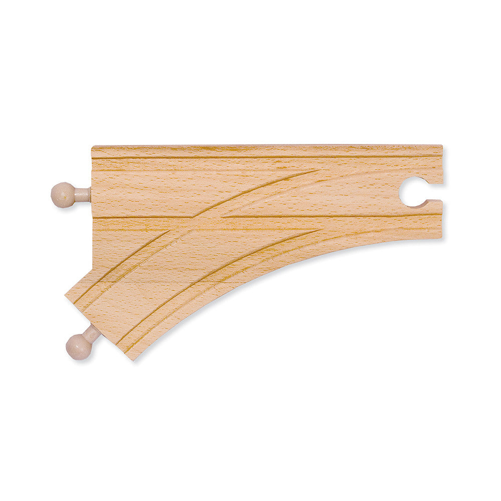 Melissa and Doug: Curved Switch Track Male 150mm - Melissa and Doug - Little Funky Monkey