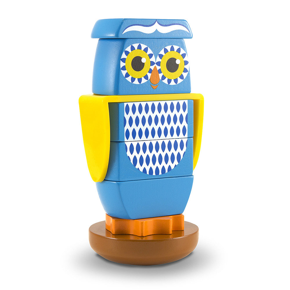 Melissa and Doug: Owl Stacker - Melissa and Doug - Little Funky Monkey