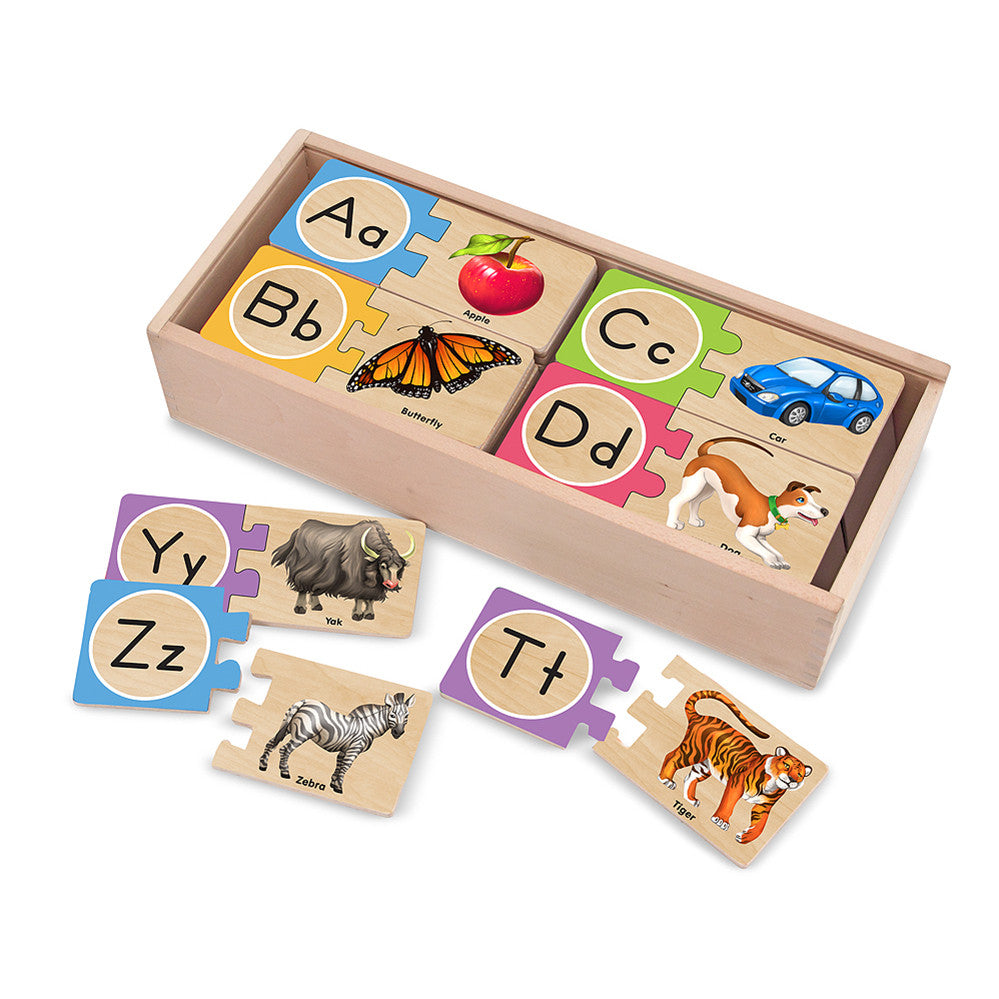 Melissa and Doug: Letter Puzzles - Melissa and Doug - Little Funky Monkey