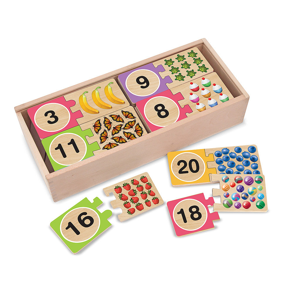 Melissa and Doug: Number Puzzles - Melissa and Doug - Little Funky Monkey