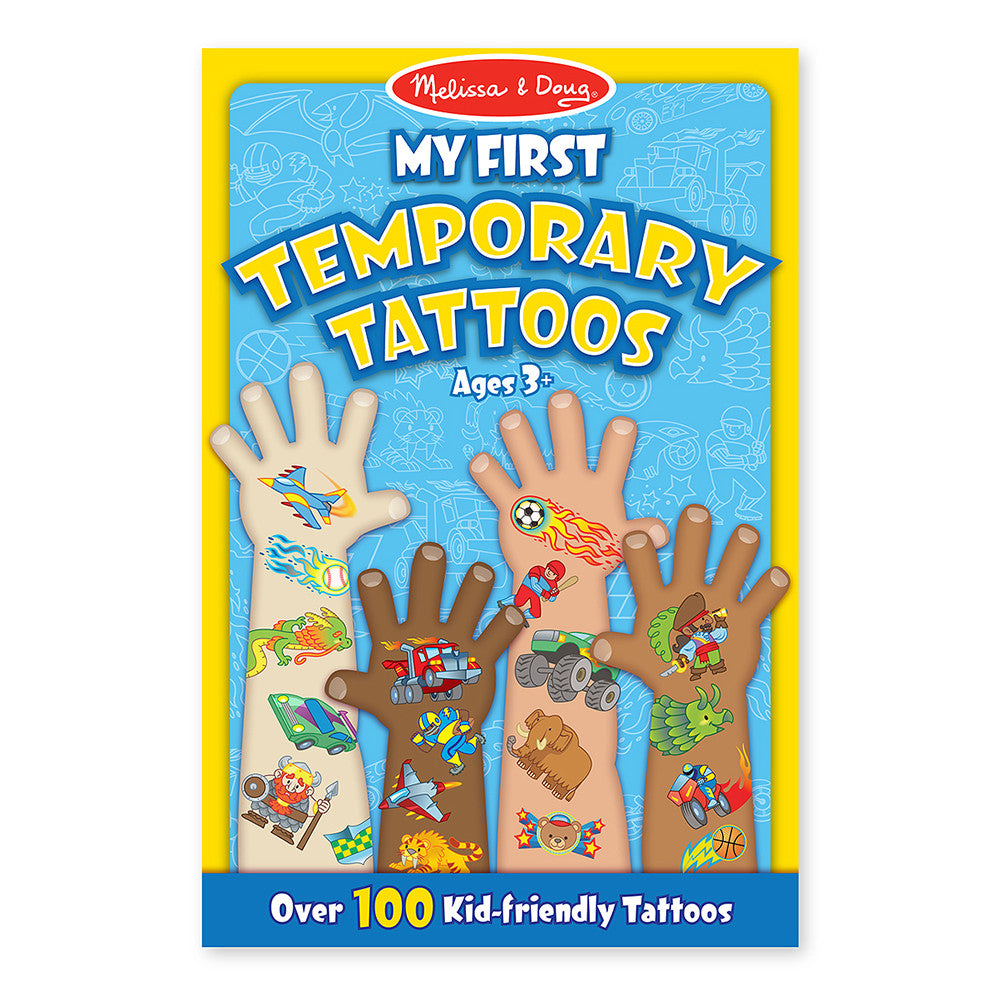 Melissa and Doug: Blue My First Temporary Tattoos - Melissa and Doug - Little Funky Monkey - 1