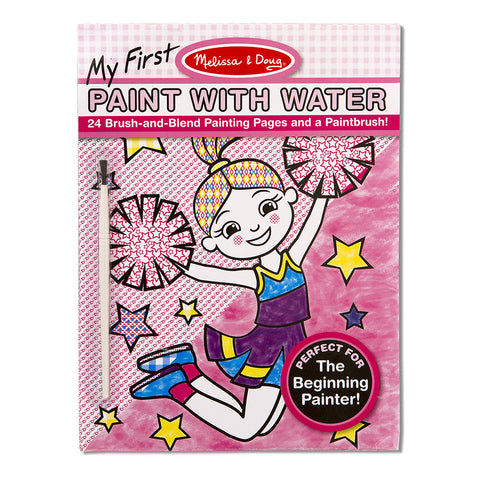 Melissa and Doug: Pink My First Paint with Water - Melissa and Doug - Little Funky Monkey