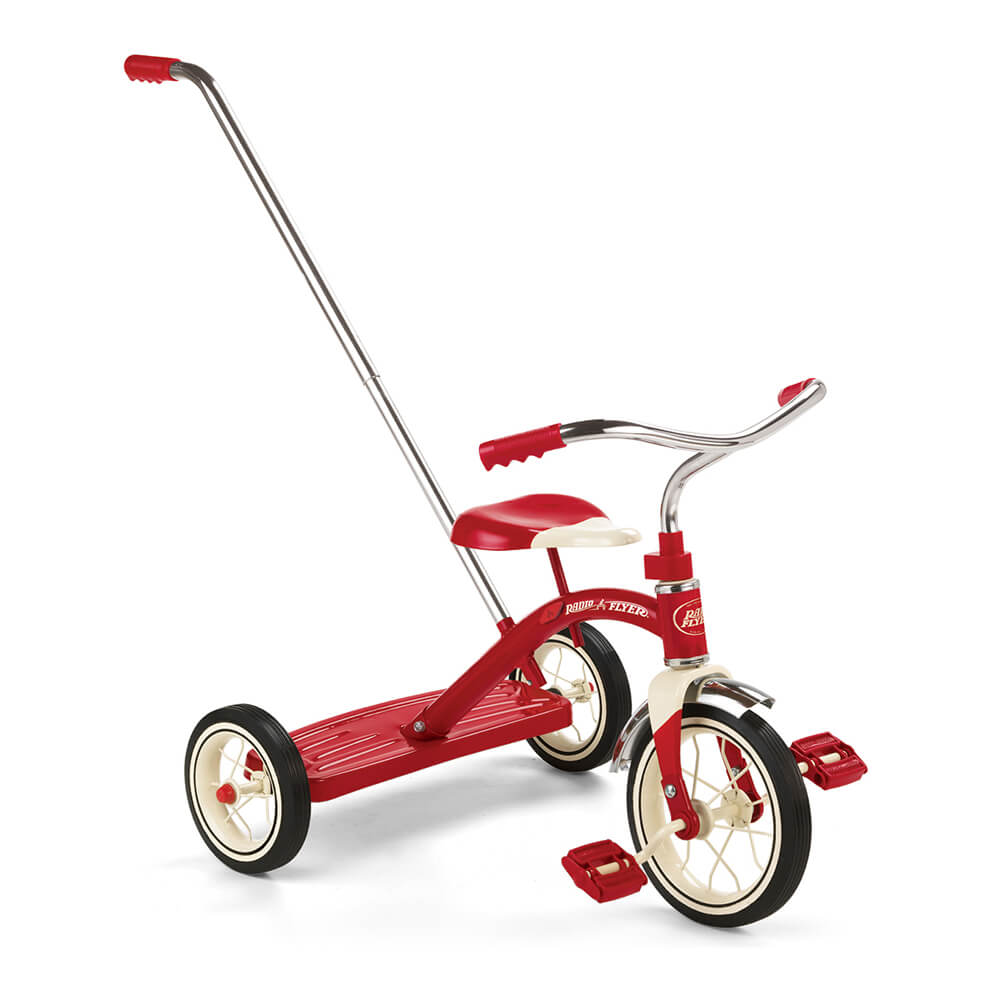 Radio Flyer Classic Red Trike with Push Handle**DUE OCTOBER**