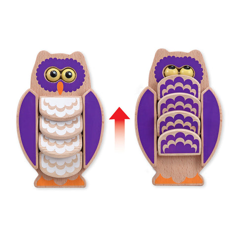 Melissa and Doug: Flapping Owl - Melissa and Doug - Little Funky Monkey - 1