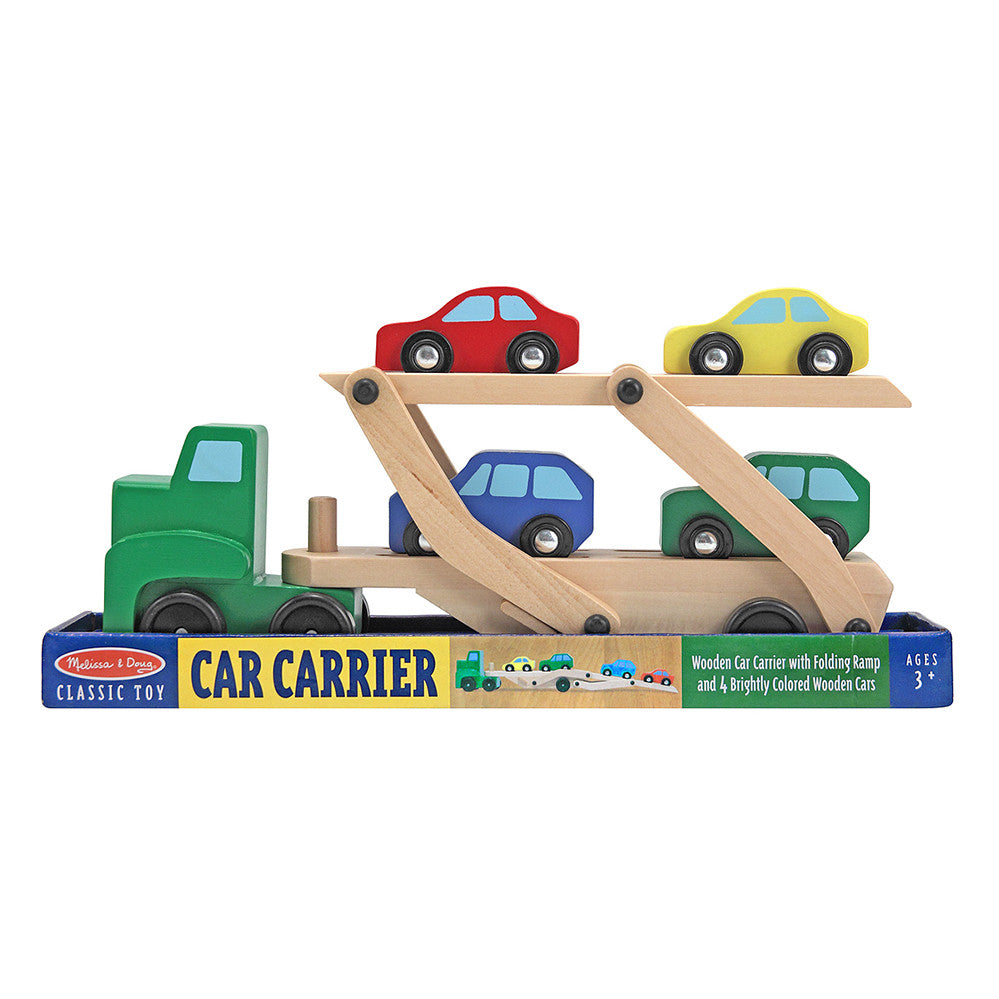 Melissa and Doug: Car Carrier - Melissa and Doug - Little Funky Monkey - 1