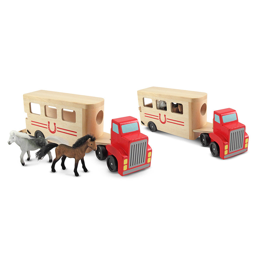 Melissa and Doug: Horse Carrier - Melissa and Doug - Little Funky Monkey - 1