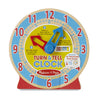 Melissa and Doug: Turn and Tell Clock - Melissa and Doug - Little Funky Monkey - 3