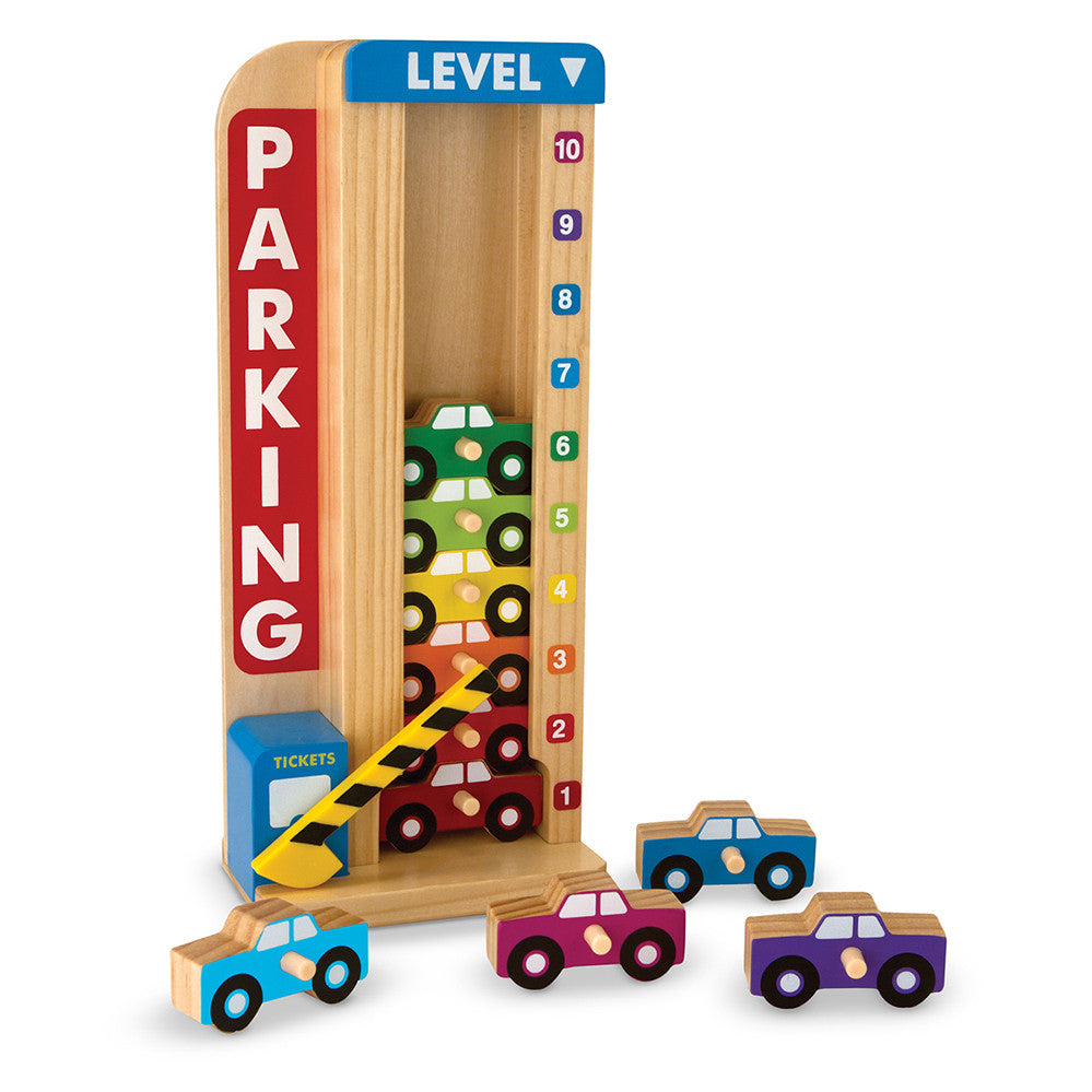 Melissa and Doug: Stack and Count Parking Garage - Melissa and Doug - Little Funky Monkey