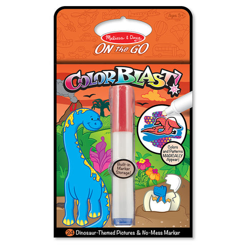 Melissa and Doug: Colour Blast Dinosaur - Melissa and Doug - Little Funky Monkey
