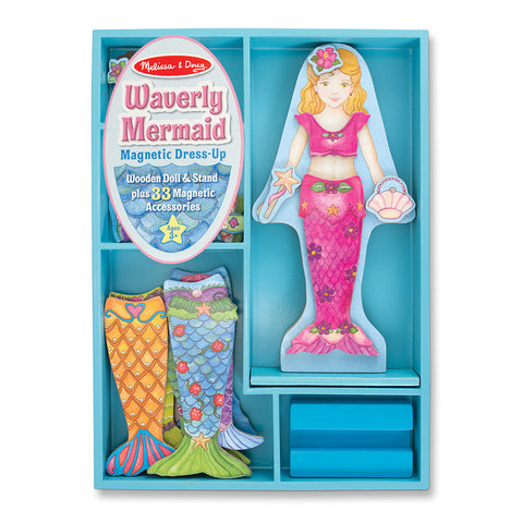 Melissa and Doug: Waverly Mermaid Magnetic Dressup - Melissa and Doug - Little Funky Monkey - 1