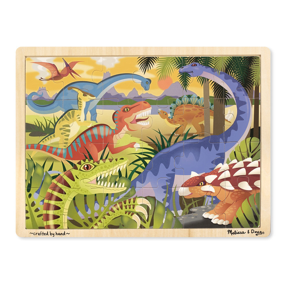 Melissa and Doug: Dinosaur Jigsaw Puzzle - Melissa and Doug - Little Funky Monkey - 1