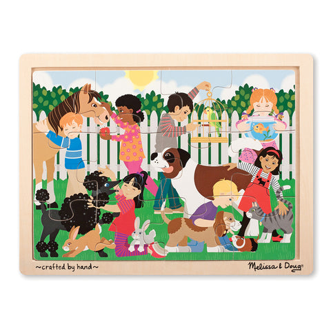 Melissa and Doug: Best Friends Jigsaw Puzzle - Melissa and Doug - Little Funky Monkey