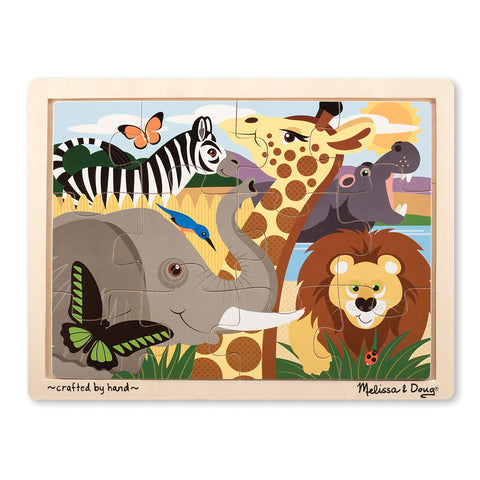 Melissa and Doug: Safari Jigsaw Puzzle - Melissa and Doug - Little Funky Monkey - 1
