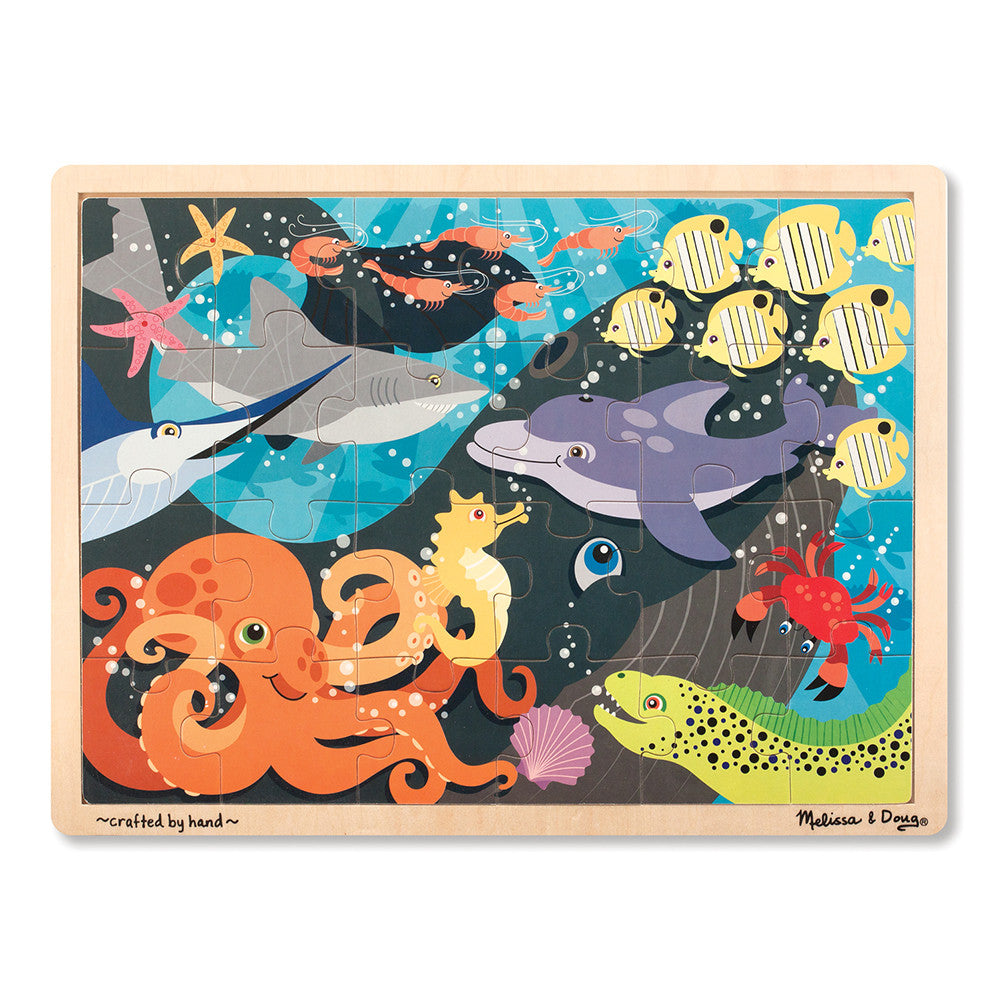Melissa and Doug: Under the Sea Jigsaw Puzzle - Melissa and Doug - Little Funky Monkey - 1