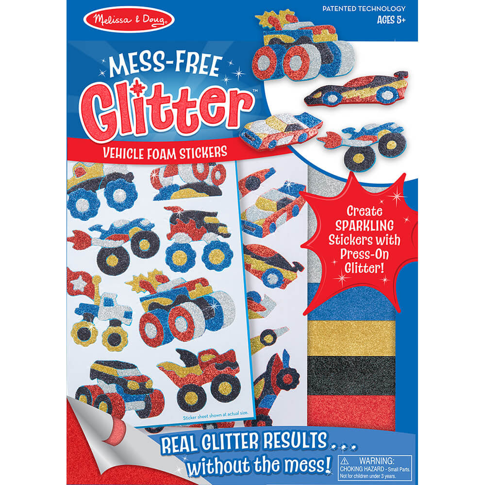 Melissa and Doug Vehicles Mess Free Glitter - Melissa and Doug - Little Funky Monkey
