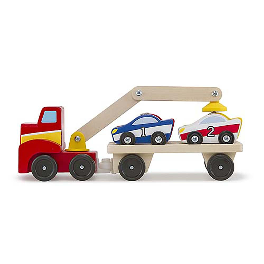 Melissa and Doug: Magnetic Car Loader - Melissa and Doug - Little Funky Monkey - 1