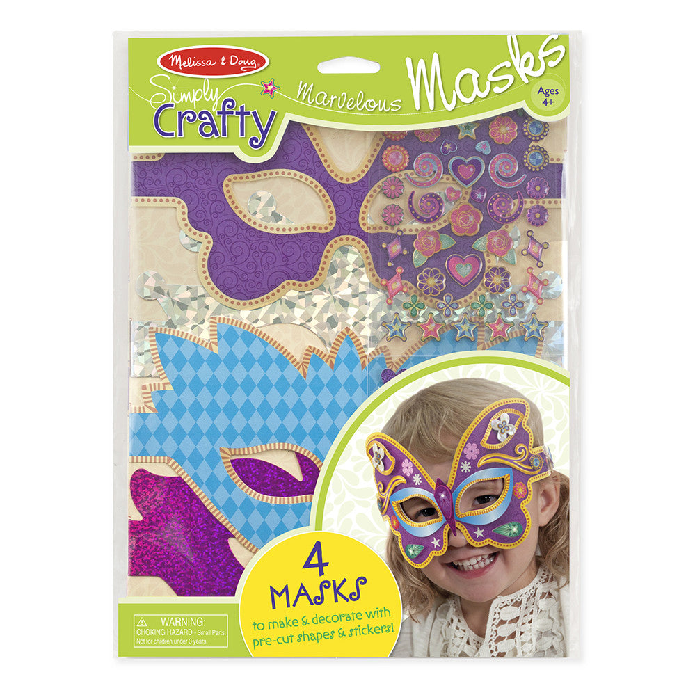Melissa and Doug: Marvelous Masks Simply Crafty - Melissa and Doug - Little Funky Monkey - 1