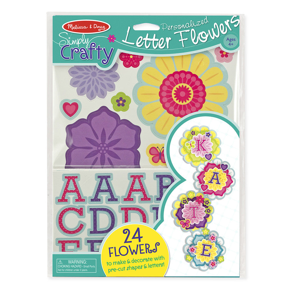 Melissa and Doug: Personalised Letters Simply Crafty - Melissa and Doug - Little Funky Monkey - 1