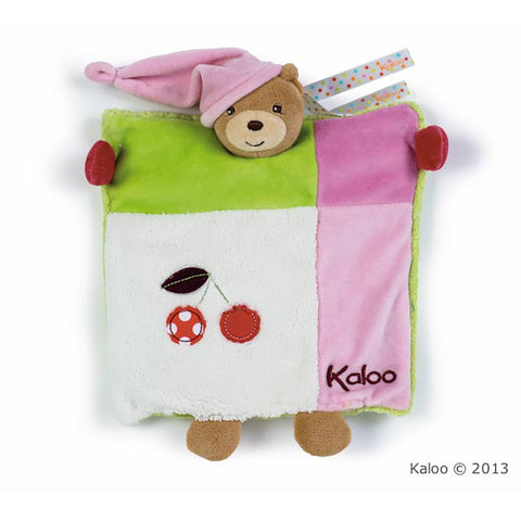 Kaloo: Colours Doudou Bear Puppet - vendor-unknown - Little Funky Monkey - 1