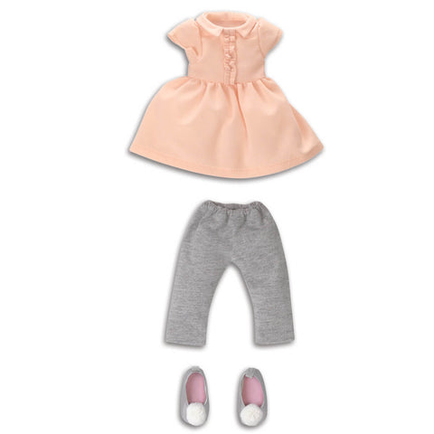 Corolle Les Cheries Dress and Leggings Set - Corolle - Little Funky Monkey - 1