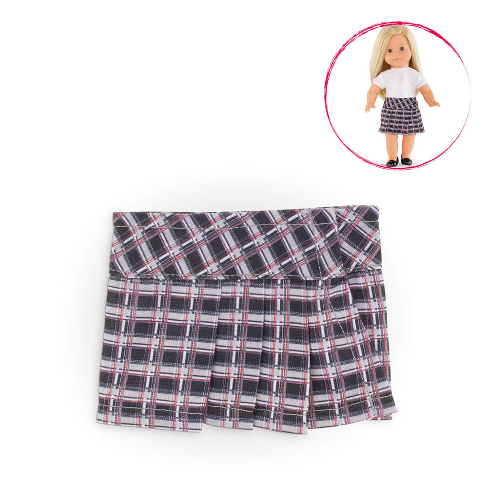Corolle 36cm Checked Skirt Ma Corolle