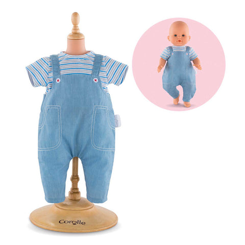 Corolle 36cm Stripped T-Shirt & Overalls Set Classique