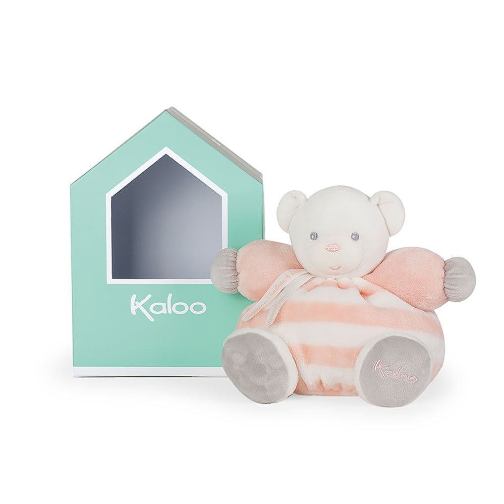 Kaloo Medium Chubby Bear Peach