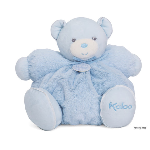 Kaloo: Perle Large Chubby Bear Blue - vendor-unknown - Little Funky Monkey - 1