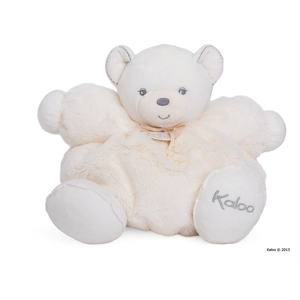 Kaloo: Perle Large Chubby Bear Cream - vendor-unknown - Little Funky Monkey - 1