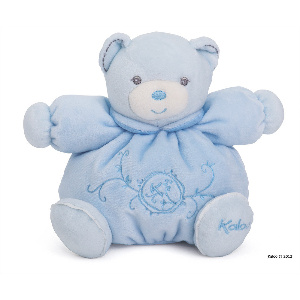 Kaloo: Perle Small Chubby Bear Blue - vendor-unknown - Little Funky Monkey - 1