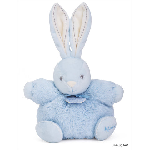 Kaloo: Perle Small Chubby Rabbit Blue - vendor-unknown - Little Funky Monkey - 1