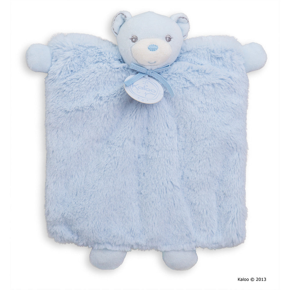 Kaloo: Perle Doudou Bear Blue - vendor-unknown - Little Funky Monkey - 1