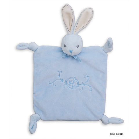 Kaloo: Perle Doudou Rabbit Blue with Knots - vendor-unknown - Little Funky Monkey