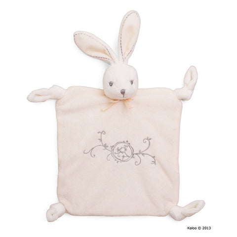 Kaloo: Perle Doudou Rabbit Cream with Knots - vendor-unknown - Little Funky Monkey