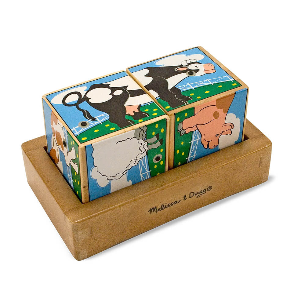 Melissa and Doug: Farm Sound Blocks - Melissa and Doug - Little Funky Monkey - 1