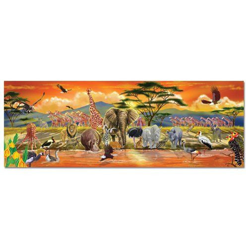 Melissa and Doug: Safari Floor Puzzle 100pc - Melissa and Doug - Little Funky Monkey