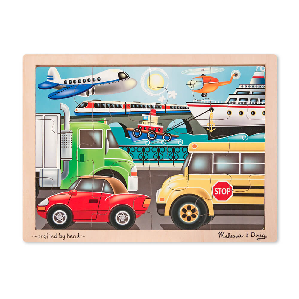 Melissa and Doug On the Go Jigsaw 12pc