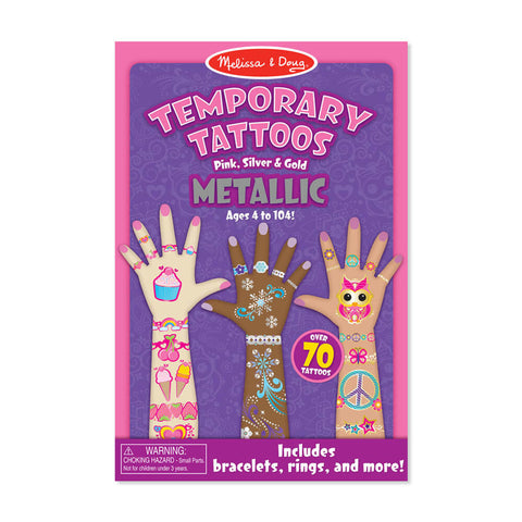 Melissa and Doug Metallic My First Temporary Tattoos