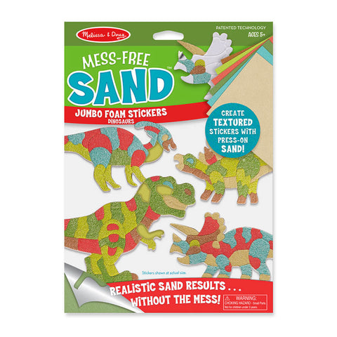 Melissa and Doug Dinosaur Mess Free Sand