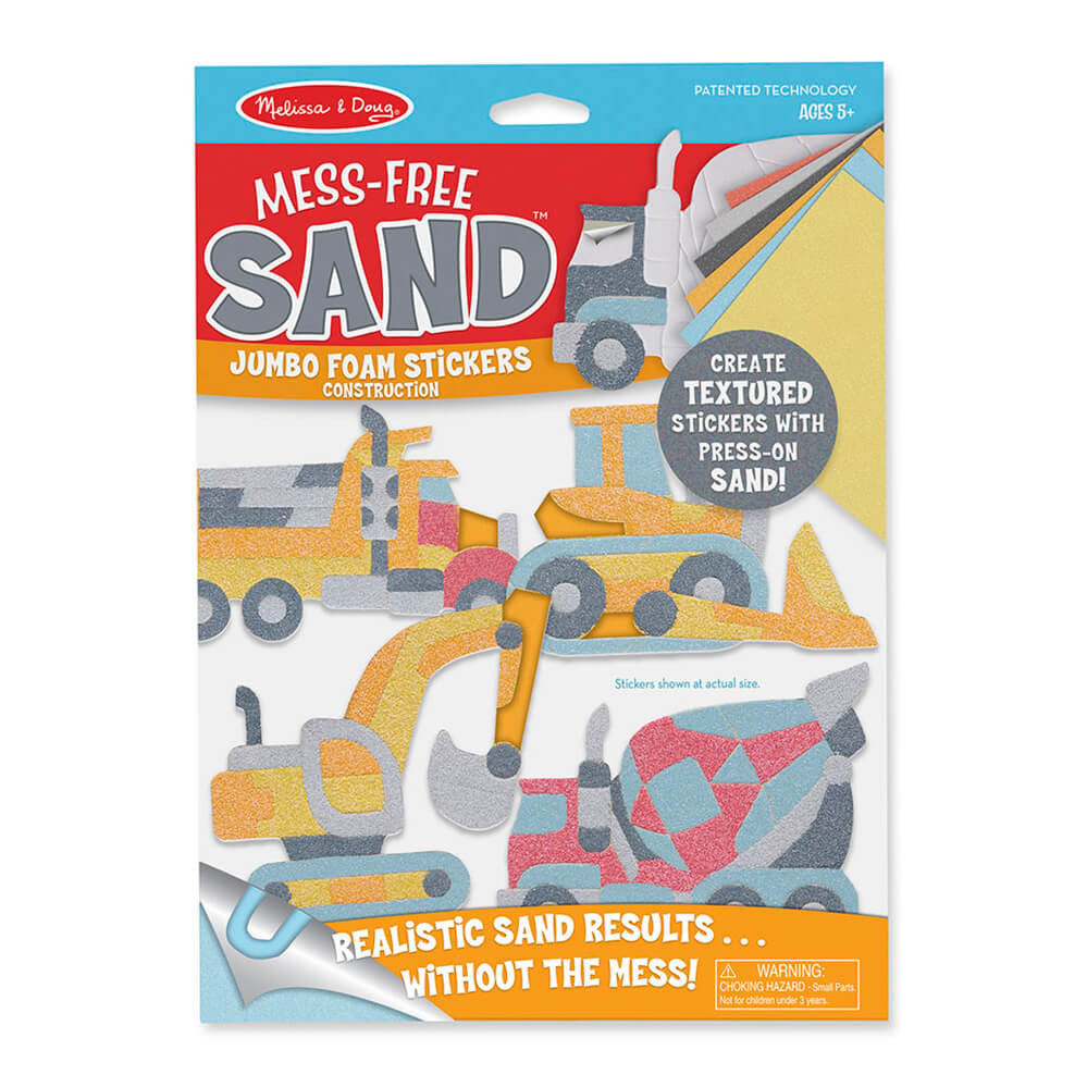 Melissa and Doug Construction Mess Free Sand