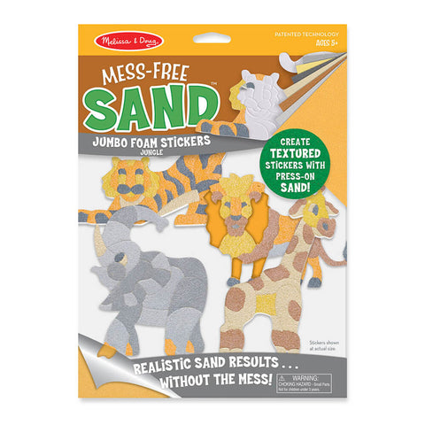 Melissa and Doug Jungle Mess Free Sand