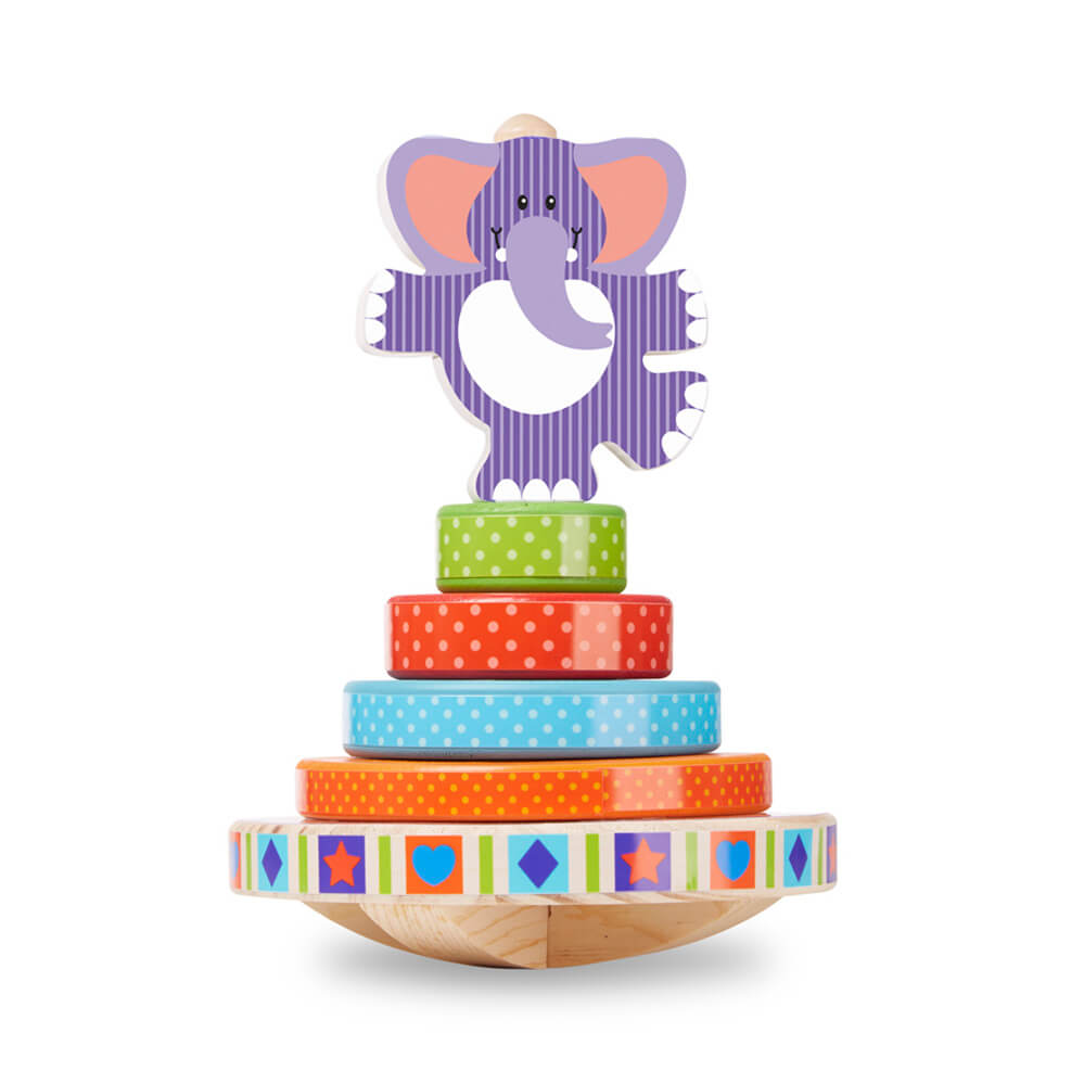 Melissa and Doug Elephant Rocking Stacker